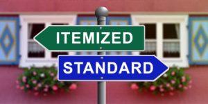 Itemized vs Standard Deductions
