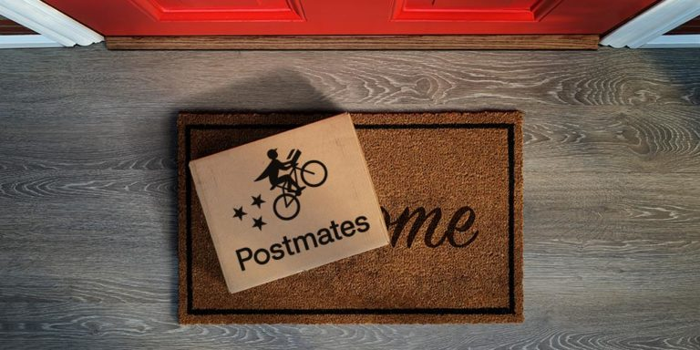 Postmates Non-Contact Deliveries